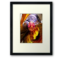 The Pleasure Palace Abstract Framed Print