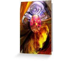 The Pleasure Palace Abstract Greeting Card