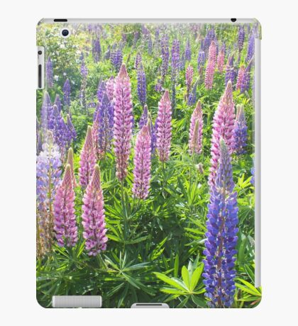 Larkin' About With Lupins iPad Case/Skin