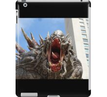 Goliath from Evolve statue iPad Case/Skin