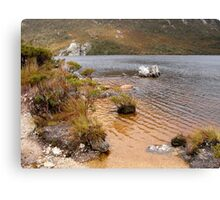 View from Dove Lake, Cradle Mountain, Tasmania, Australia. Canvas Print