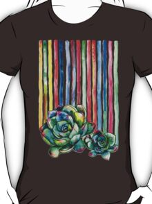 Rainbow Succulents T-Shirt