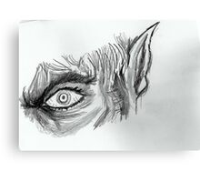Eye of the Beast Canvas Print