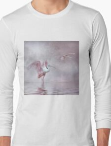 Pink Mist Long Sleeve T-Shirt