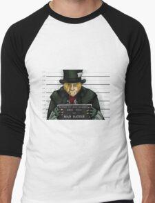Mad Hatter Men's Baseball ¾ T-Shirt