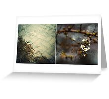Spring rain Greeting Card