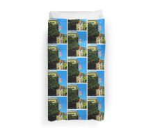 Walking The Wires Duvet Cover