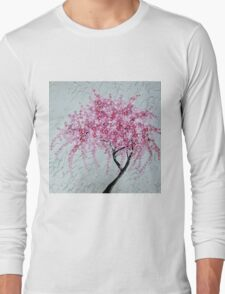 Japanese Cascade Long Sleeve T-Shirt