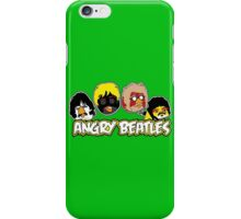 Angry Beatles - Angry Birds/ Beatles Parody iPhone Case/Skin
