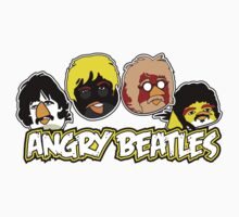 Angry Beatles - Angry Birds/ Beatles Parody Kids Clothes