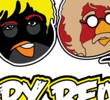 Angry Beatles - Angry Birds/ Beatles Parody Sticker