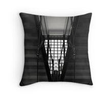 Triangular Stairwell Throw Pillow