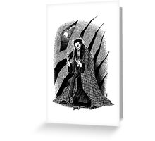 The Hands of Orlac Greeting Card