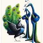 Aesop&#x27;s Fables - The Jay and the Peacocks by Alex e Clark
