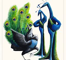 Aesop's Fables - The Jay and the Peacocks by Alex e Clark