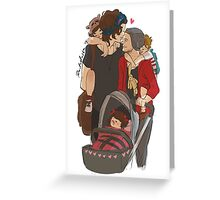 Domestic Spouses Greeting Card