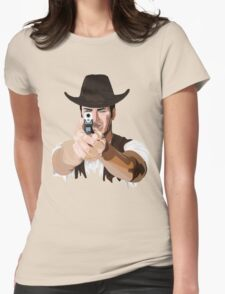 Aim to your target! Womens Fitted T-Shirt