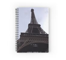 Tour Eiffel Spiral Notebook