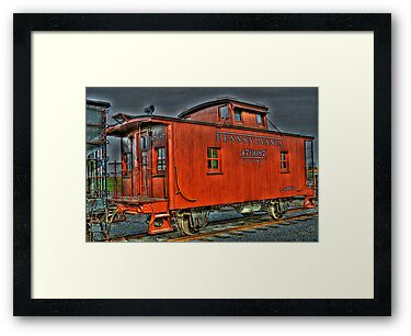 The Little Red Caboose by Monte Morton