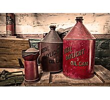 Royal Daylight Cans  Photographic Print
