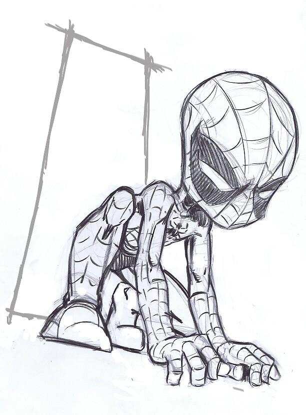 baby spider man.. by tofiq982