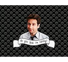 Spooky Mulder Photographic Print