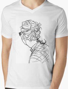 Baby Bun Mens V-Neck T-Shirt