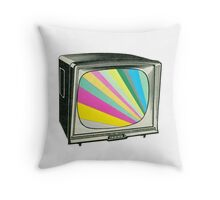 Your Programme Will Resume Shortly Throw Pillow