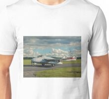 De Havilland Vampire FB.6 LN-DHY Unisex T-Shirt