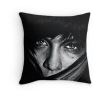 Human Behaviour  Throw Pillow