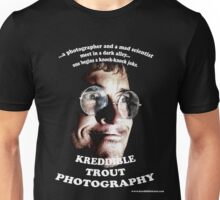 the real official kreddible trout photography tee (hehe) Unisex T-Shirt