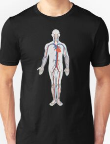 Human Body Anatomy Unisex T-Shirt