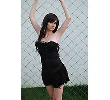 Black Corset 3 Photographic Print