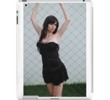 Black Corset 3 iPad Case/Skin