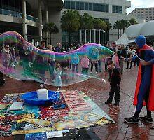 Big Bubble - No Trouble, Darling Harbour, Sydney,Australia by muz2142