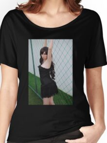 Black Corset 4 Women's Relaxed Fit T-Shirt