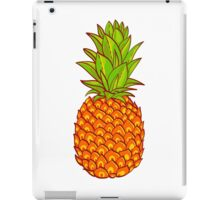 Pineapple. Hand drawn vector. iPad Case/Skin