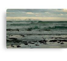 Wispy Surf, Great Ocean Road Canvas Print