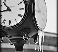 Frozen in Time B&W by Stephen Thomas