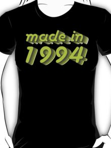 Made in 1994 (Green&Grey) T-Shirt