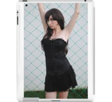 Black Corset 7 iPad Case/Skin