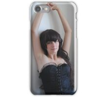 Black Corset 8 iPhone Case/Skin