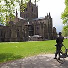 Elgar regarding Hereford Cathedral by jayview