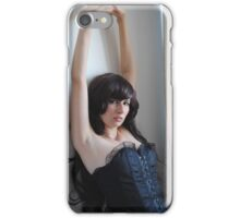 Black Corset 10 iPhone Case/Skin