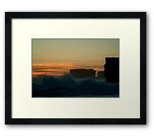 Wave Power,Sherbrooke Beach,Great Ocean Rd Framed Print