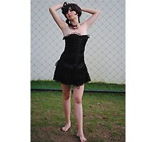 Black Corset 11 Photographic Print