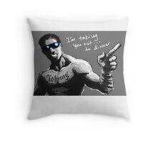 unCAGEDgamez Throw Pillow