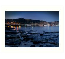 Twilight, Apollo Bay Harbour,Great Ocean Rd Art Print