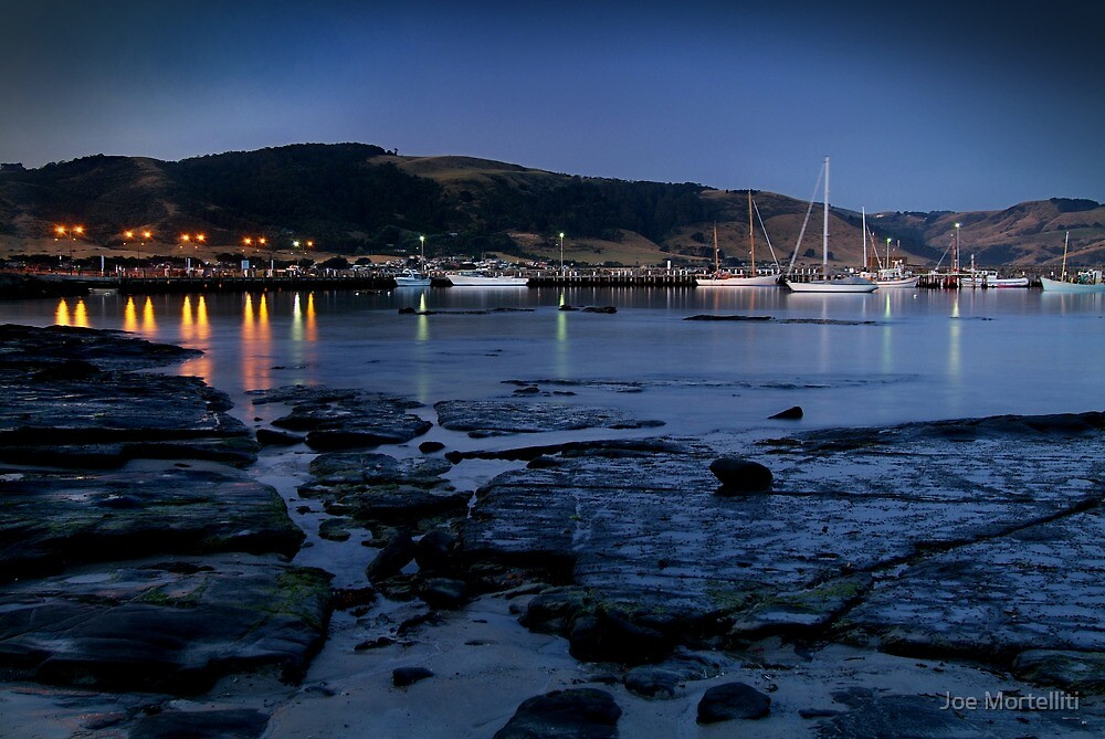 Twilight, Apollo Bay Harbour,Great Ocean Rd by Joe Mortelliti