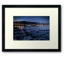 Twilight, Apollo Bay Harbour,Great Ocean Rd Framed Print